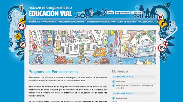 Sitio web del programa de fortalecimiento de la educaci n for Sitio web ministerio del interior