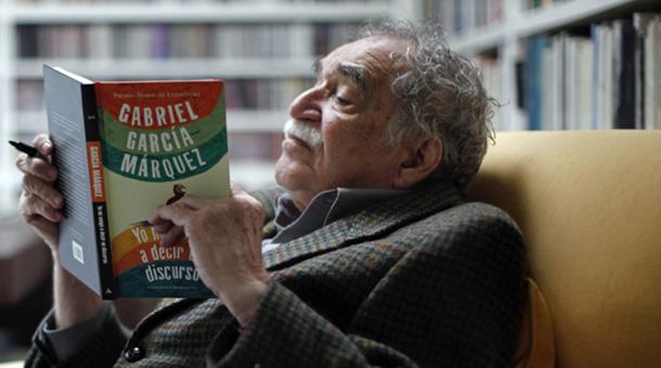 García Márquez lee